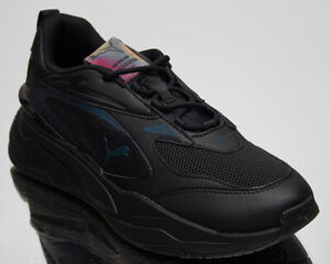 Puma RS-Fast Futurverse Men's Black Casual Athletic Lifestyle Sneakers Shoes