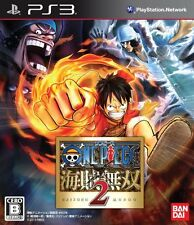 [Used] One Piece Pirate Warriors 2 - Bandai PS3 Japan Import Game Free Shipping