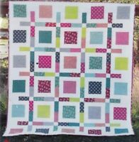 Boxed Up - fabulous pieced quilt PATTERN - Cluck Cluck Sew