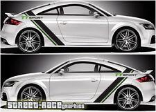 Audi TT rally 007 racing stripe graphics stickers decals vinyl
