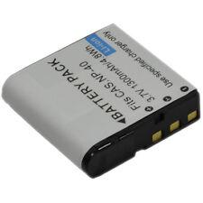 Battery+Charger fr NP-40 40DBA 40DCA EX-FC100 FC150 FC160 Z30 Z40 Z400 P600 P700