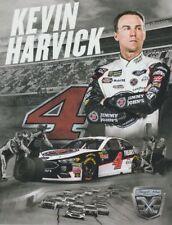 2018 Kevin Harvick Jimmy John's Ford Fusion NASCAR MENCS postcard
