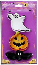 Set Of 3 Spooky Fun Stainless Steel Ghost Pumpkin Bat Halloween Cookie Cutters