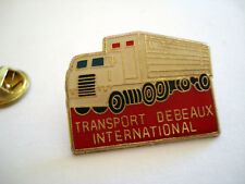 PINS RARE CAMIONES CAMION TRANSPORT ROUTIER DEBEAUX INTERNATIONAL