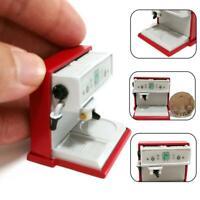 1:12 Maison de poupée Miniature Cuisine Cafetière Machine Pot Coupe Décor