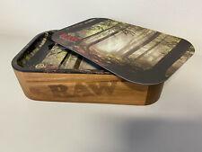 RAW Cache Box mit Deckel Tray Forest Small + magnetischem Deckel Forest