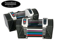 *BRAND NEW* POWERBLOCK SPORT - 2.4 - ADJUSTABLE DUMBBELLS - 1.5-11KG