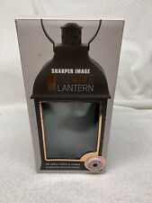 Shaper Image LED Flameless Lantern/ Indoor/Outdoor/ battery operated