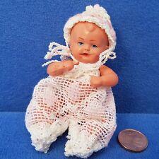 ALTE SCHILDKRÖT PUPPE 8 1/2 BABY DOLL POUPÉE SAMMLER VINTAGE PUPPENHAUS
