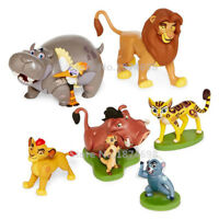 6pcs The Lion King Guard Figurine Playset Cake Topper Figure Toy Kion Simba Gift