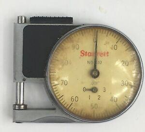 Starrett no 1010 Pocket Micronometer Works No Case RT217