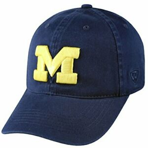 Campus Hats University of Michigan Wolverines Big Navy Blue DH M Adult Mens//Womens Flex Fitted Baseball Hat//Cap Size Large 7 3//8 /& 7 1//2