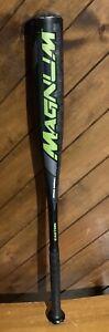 "Easton Magnum YB3 Youth baseball bat 29"" 19 oz -10 2 1/4"" diameter Black"
