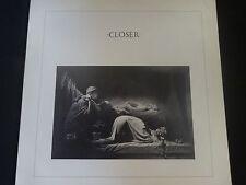 """Joy Division """"Closer"""" Original LP. Import/Spanish pressing (19L0094) VERY RARE !"""