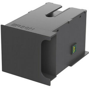 Genuine Epson WF-7720 WF-7710 Maintenance tank box cartridge T6711 T671100 clean