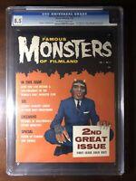 Famous Monsters of Filmland #2 (1958) - Wolfman! - CGC 8.5 - Rare High Grade!