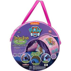 New with Tags DreamTents Nickelodeon Paw Patrol Dream Tent Glow Pink Girls