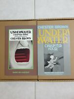 Chester Brown Underwater #3 & #4  Drawn and Quartely Fine+ Condition