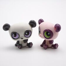 Littlest Pet Shop Panda Lot  353 Green eyes 89 Purple eyes