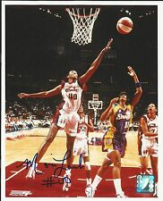 Monica Lamb Wnba Signed Auto 8x10 Basketball Photo Autograph