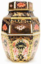 Royal Crown Derby Old Imari 1128 Antique Lidded Vase Circa 1919