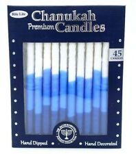 Rite Lite Chanukah Premium Candles 45 Pack Hand Dipped Lead Free Cotton Wick New