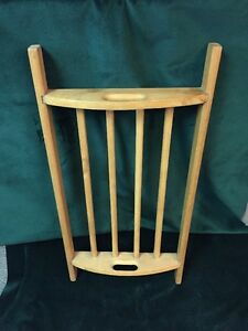 Early Primitive Handmade Wood Laundry Drying Rack ~ PR160