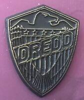 Judge Dredd Badge 25mm Pin Badge. 2000AD Judge Dredd UK SELLER