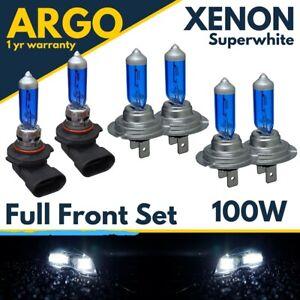 For Bmw 5 Series E60 Headlight Bulbs Hid Xenon White Front Fog Light Bulbs 03-10