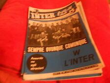 CALCIO  RIVISTA    INTER  FOOTBALL  CLUB     NR  10   OTTOBRE   1966