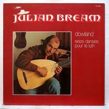 JULIAN BREAM - DOWLAND 16 dances for the lute RCA LP EX+