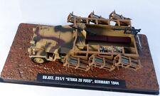 "ATLAS TANK 1/43 MILITAIRE HALF TRACK SDKFZ 251 "" STUKA ZU FUSS "" ALEMAGNE 1944"