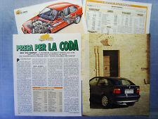 AUTO995-RITAGLIO/CLIPPING/NEWS-1995-BMW 318ti COMPACT - 4 fogli