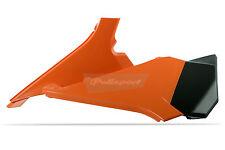KTM AIR BOX CUSTODIA SXF 2011- 2012 SX 2012 ARANCIO POLISPORT