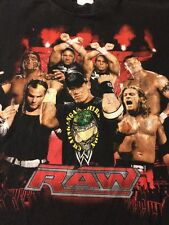 WWE RAW John Cena Youth XL T Shirt Black