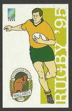 SOUTH AFRICA 1995 RUGBY WORLD CUP AUSTRALIA Pre Stamped POSTCARD
