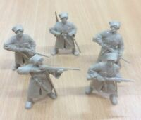 Set of 5 Russian Cossacks 19th century Plastic Toy Soldier 1/32 TEHNOLOG 54 mm