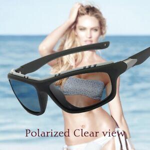 Polarized Sunglasses Men Women Square Sport Fishing Cycling Driving Goggles UV