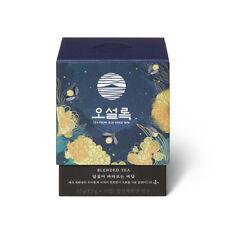 [Osulloc] Blended Tea Moon Flower Overlooking Sea 10 Pyramid Tea Bags 15g,0.52oz