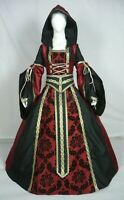 Medieval Renaissance Tudor Wedding Handfasting LARP Gown Dress Costume (MD-02)