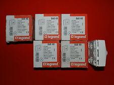 Réf 86040 LEGRAND LOT 5 PRISES TV SIMPLE MALE SAILLIE BLANC NEUF