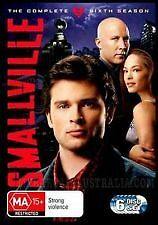 SMALLVILLE SIXTH SEASON 6 - BRAND NEW & SEALED R4 DVD (6-DISC BOX SET) SUPERMAN