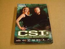 3-DISC DVD BOX / CSI:CRIME SCENE INVESTIGATION - SEIZOEN 5- AFLEVERING 5.1- 5.12