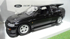 FORD ESCORT RS COSWORTH noir 1/18 UT Models 22704 voiture miniature d collection