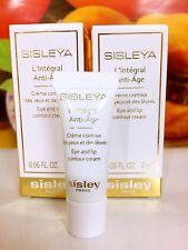 Sisley Sisleya L'Integral Anti-Age Eye and Lip Contour Cream 4ml=2ml*2pcs Sample