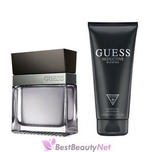 Guess Seductive Homme by Guess for Men 2 Piece Gift Set New In Box