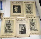 Vintage Political Magazines Republican Woman 1920s