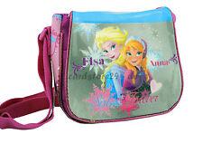 Disney Frozen Reina De Hielo Bolsa Niños Bolso de mano y hombro ELSA PLATA PIN
