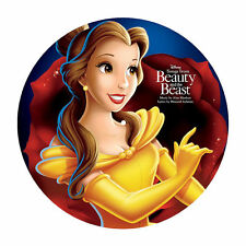 Disney: Beauty & The Beast SONGS/MUSIC FROM New Vinyl Picture Disc LP