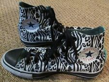 c2d0dcd65f18 Converse Chuck Taylor AS Custom Black Print Hi Tops 135528C Size 6.5M 8.5W